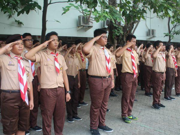 Ekskul Pramuka SMA FONS VITAE 2 MARSUDIRINI