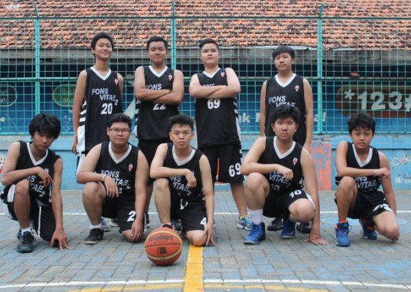 Ekskul Basket SMA Fons Vitae 2 Marsudirini