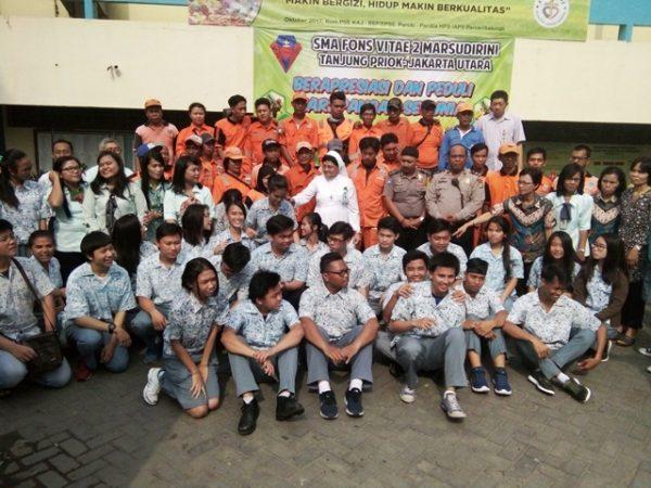 Peringatan Hari Pangan Sedunia (HPS) 2017 SMA Fons Vitae 2 Marsudirini