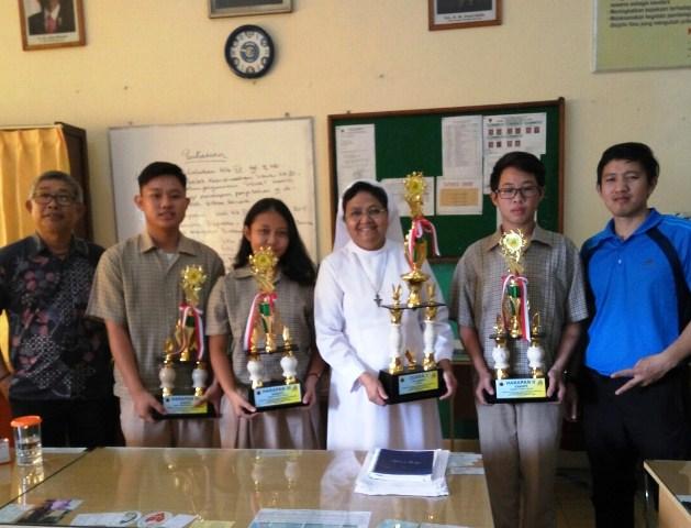 Juara II Menaksir Tinggi Pramuka Putri Kwartir Ranting (SSC Koja) Jakarta Utara