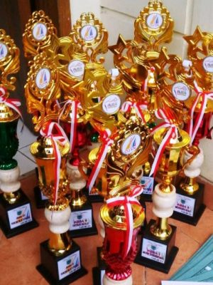 Juara I Bulutangkis Putra Olimpiade Olahraga Siswa Nasional Sudin Jakarta Utara