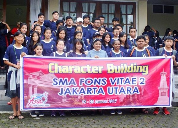 Study Tour & Caracter Building SMA Fons Vitae 2 Marsudirini ke Yogyakarta