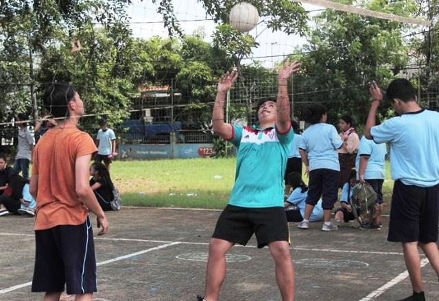 Ekskul Bola Volley SMA Fons Vitae 2 Marsudirini