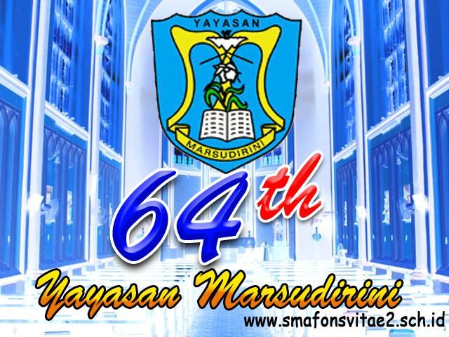 Agenda Peringatan Tumbuk Ageng (64 tahun) Yayasan Marsudirini