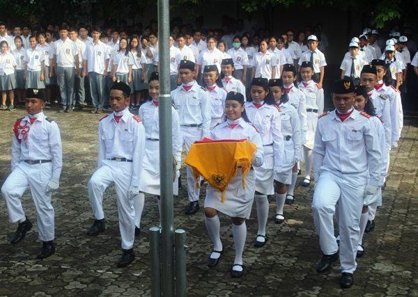 Upacara Hari Sumpah Pemuda ke-89 Marsudirini