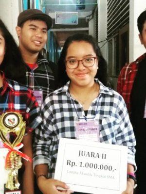 Juara II Lomba Akustik Tingkat SMA Universitas Atma Jaya