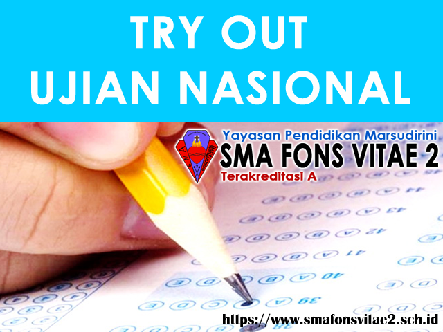 Jadwal Try Out Ujian Nasional