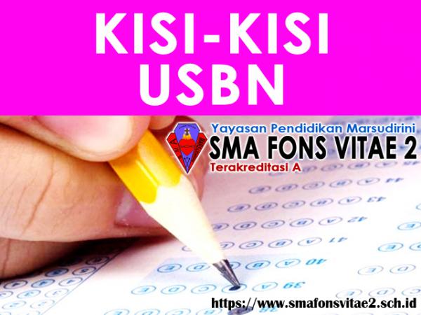 Kisi-Kisi dan POS USBN BSNP