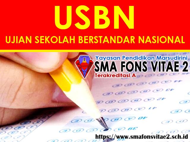 Jadwal USBN SMA 2019