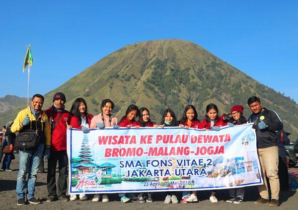 Study Tour & Character Building ke Bali, Bromo dan Jogja