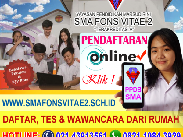 PPDB ONLINE SMA 2021/2022