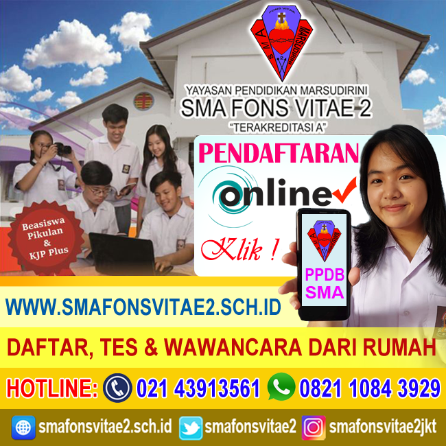 PPDB ONLINE SMA 2020/2021