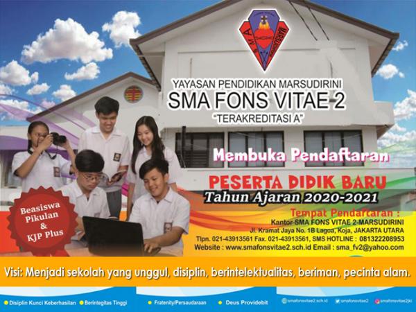 Info Pendaftaran Sekolah Marsudirini Koja Jakarta Utara