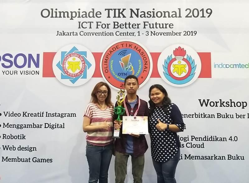 Juara 2 Video Kreatif Instagram SMA Olimpiade Nasional TIK 2019