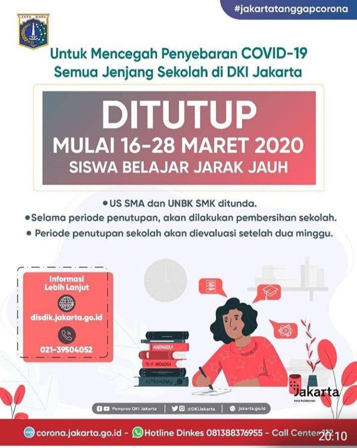 Surat Edaran No. 27/SE/2020 Tentang Pembelajaran di Rumah (Home Learning)